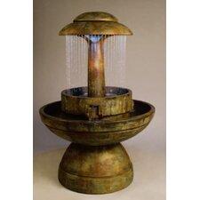 Cast Stone Ring of Diamonds Fountain