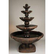 Cast Stone Spheres Cascade Fountain