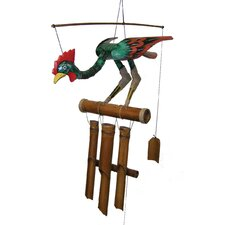 Annie Rooster Wind Chime