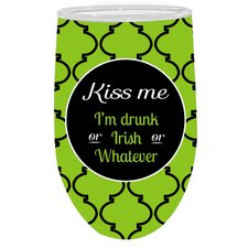 Refresh Hydration Kiss Me Wine Glass