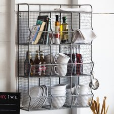 Wire Mesh 9 Bin Cubical Storage