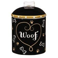 Ceramic Dog Treat Jar