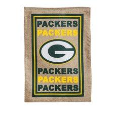 NFL Burlap Flag