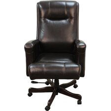High-Back Executive Leather Executive Chair