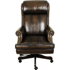 High-Back Executive Leather Chair