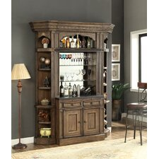 Aria 2 Piece Bar Base and Hutch