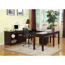 Boston U-Desk with Credenza