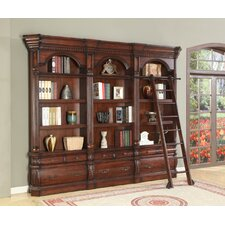Versailles 3-Piece Library Unit with Ladder