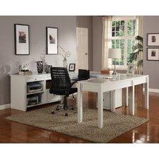 Boca U-Desk with Credenza