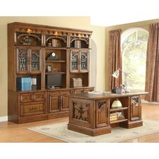Barcelona 6-Piece Library and Desk