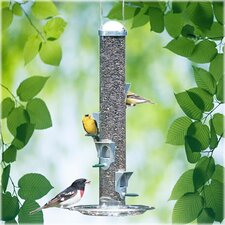 Deluxe Seed Silo Tube Bird Feeder