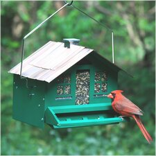 Squirrel-Be-Gone Home Style Hopper Bird Feeder