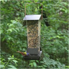 Fortress Squirrel Proof Hopper Bird Feeder