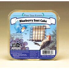 Blueberry Suet Cake Bird Food