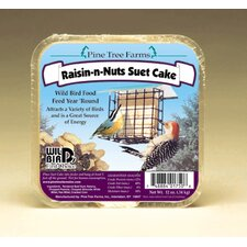 Raisin-N-Nut Suet Cake Bird Food