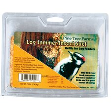 Log Jammer Insect Suet Bird Food