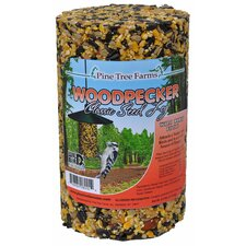 Woodpecker Seed Log Bird Food