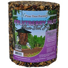 Fruit Berry Nut Seed Log Bird Food