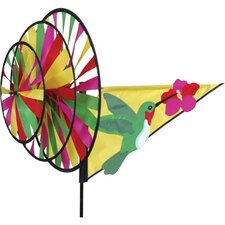 Hummingbird Triple Wind Spinner