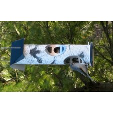 Birch Log Bird Feeder for Mixed Seed