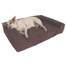 Comfort Den Memory Foam Bolster Dog Bed