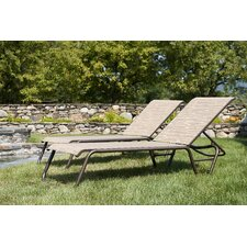 Quick Ship Gardenella Chaise Lounge (Set of 2)