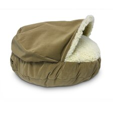 Cozy Cave Luxury Hooded Dog Bed