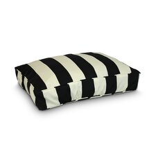 Pool & Patio Vertical Stripe Dog Pillow