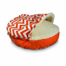 Luxury Pool Patio Cozy Cave Chevron Sidewalls Pet Bed