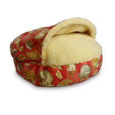 Luxury Pool Patio Cozy Cave Shells Pet Bed