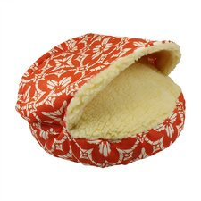 Orthopedic Pool and Patio Cozy Cave Aspidoras Coral Dog Bed