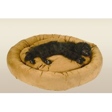 Round Bolster Dog Bed