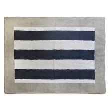 Out of the Blue Navy/White Area Rug