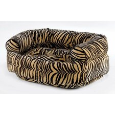 Double Bolster Dog Bed