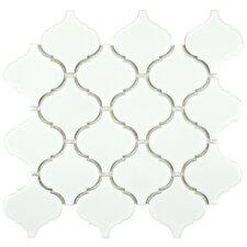 """Retro Beacon 2.75"""" x 3"""" Porcelain Mosaic Tile in White"""