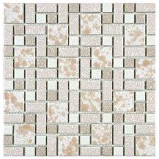 Academy Random Sized Porcelain Mosaic Tile in Pink