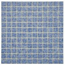 """Pool 1"""" x 1"""" Porcelain Mosaic Tile in Catalan"""