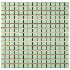 Morgan Porcelain Mosaic Tile in Green