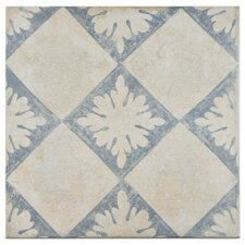 """Morales 13"""" x 13"""" Porcelain Floor and Wall Tile in Beige"""