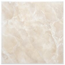 "Alpha 11.75"" x 11.75"" Ceramic Floor and Wall Tile in Beige"