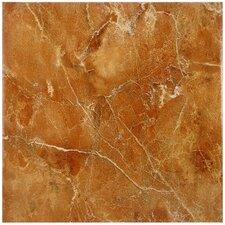 "Playa 12.5"" x 12.5"" Ceramic Floor and Wall Tile in Brown"