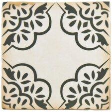 """Arquivo 4.88"""" x 4.88"""" Ceramic Field Tile in Ornate"""
