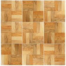 "Dixie 12"" x 12"" Ceramic Wood Tile in Natural"