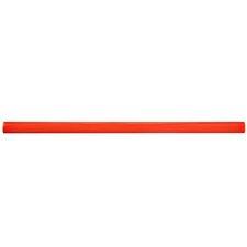 "Bira 11.75"" x 0.5"" Cana Cigarro Tile Trim in Red (Set of 5)"