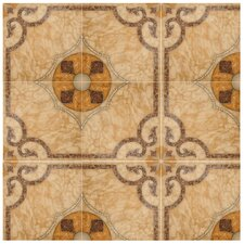 """Nile 17.625"""" X 17.625"""" Ceramic Floor and Wall Tile"""