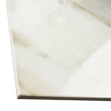 """Kalacutta 19.75"""" X 19.75"""" Porcelain Floor and Wall Tile in White"""