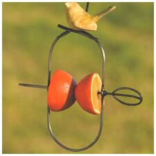 Ceramic Fruit Spear Decorative Bird Feeder (Set of 4)