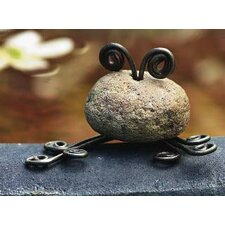 Stone Frog Mini Statue (Set of 4)