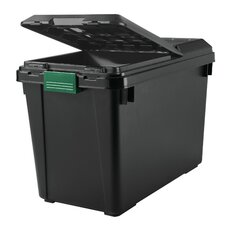 25.5 Gallon Heavy Duty Store-It All Tote with Lid (Set of 4)