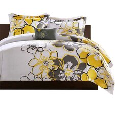 Allison Comforter Set in Yellow